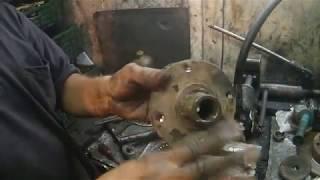 changer un roulement de roue   - Démontage sans presse/montage avec presse