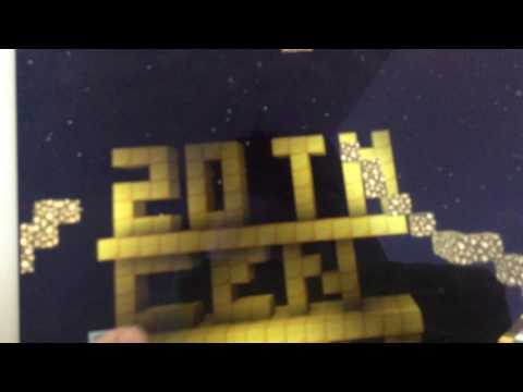 20th century fox logo 75 years (Minecraft version)