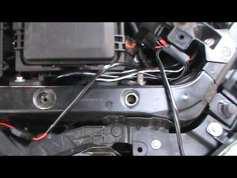 2013 Cadillac ATS low beam drl override and wiring oem drl  YouTube