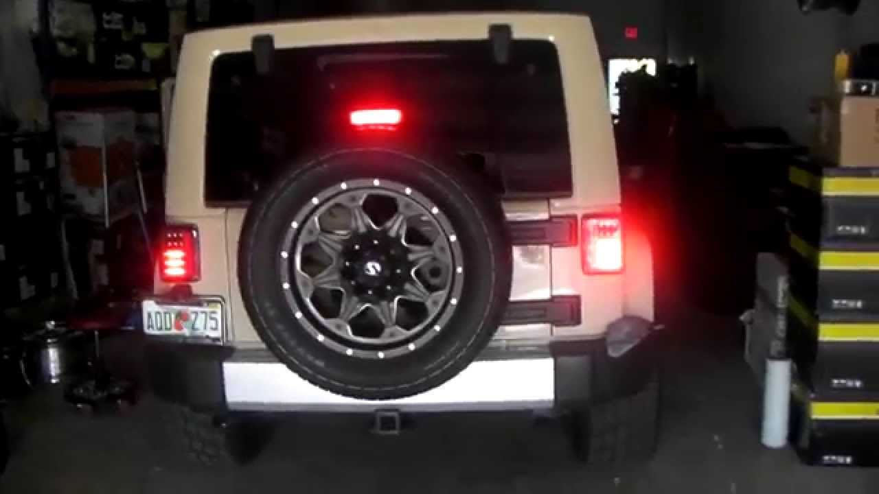 877 544 8473 Spyder LED Tail Lights LED Headlight Bulbs Jeep Accessories  Free Shipping   YouTube