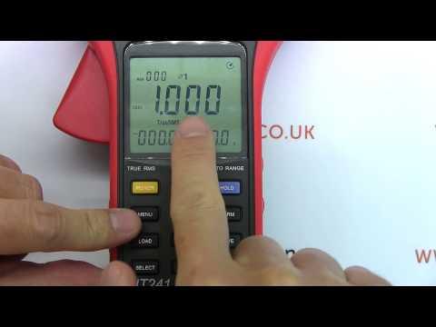 Review: UNI-T UT241 Power Clamp Meter