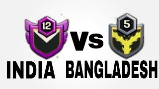 🔴LIVE CLAN WAR INDIA VS BANGLADESH | CLASH OF CLANS | CAPTAIN PRACHIR