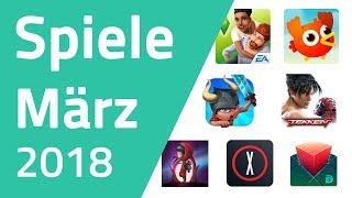 Top Spiele für Android & iOS - März 2018