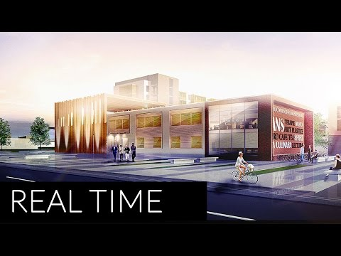 Architecture Visualization Render | Photoshop Post Productio