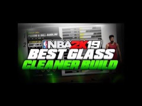 NBA 2K19 BEST GLASS CLEANER BUILD... BEST PF GLASS ???