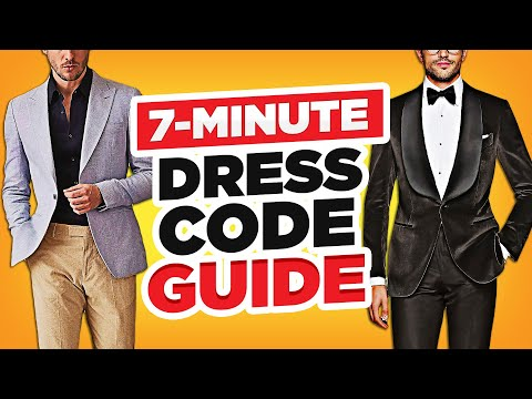 The ONLY Dress Code Guide You'll Need (Eliminate Style Confusion In 7 Minutes!)