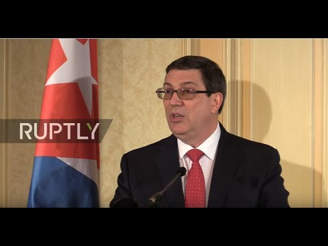 LIVE: Cuban Foreign Minister speaks to press in Vienna