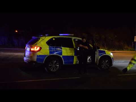 Sussex police / Armed Police at a Shooting in bexhill