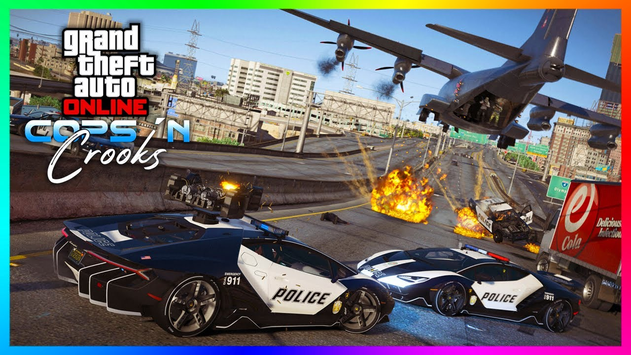 NEW Cops N Crooks Police DLC Content Found In GTA 5 Online....This CONFIRMS So Much!