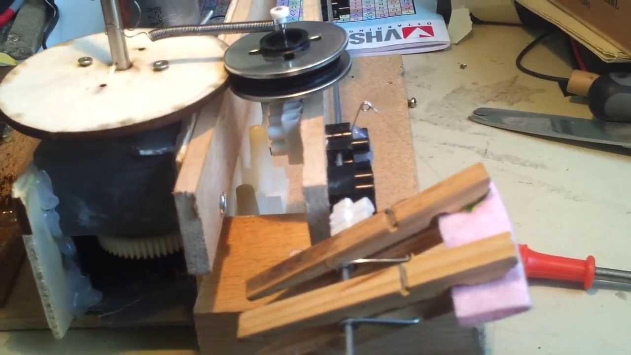 original flatpup guitar pickup winder youtube. Black Bedroom Furniture Sets. Home Design Ideas