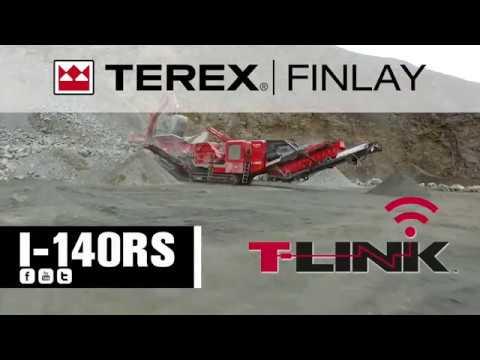 Terex Finlay I-140RS Impact Crusher | OPS Screening & Crushing