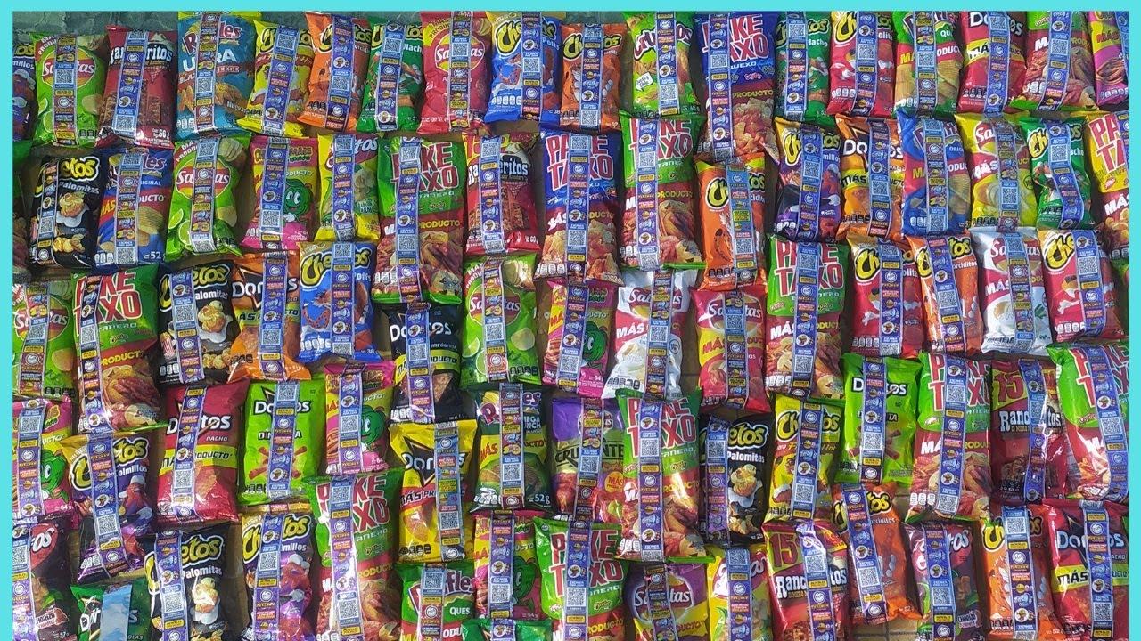 Abriendo 100 Bolsas De Sabritas Tazos Pacman Ft @Pokepsula Ashton Parte 1 [Año 2020]