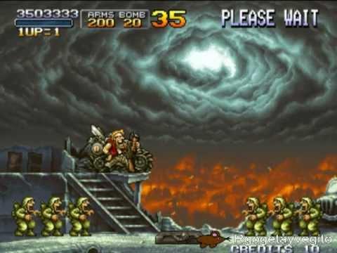 Metal Slug 1,2,3,4,5 y X los últimos jefes/All final boss