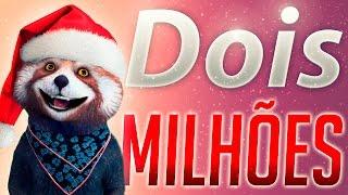 2 Milhões de inscritos! Feliz Natal!