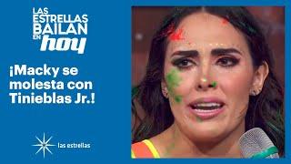 ¡Macky quiere dejar la competencia por culpa de Tinieblas Jr.! | #LasEstrellasBailanEnHoy