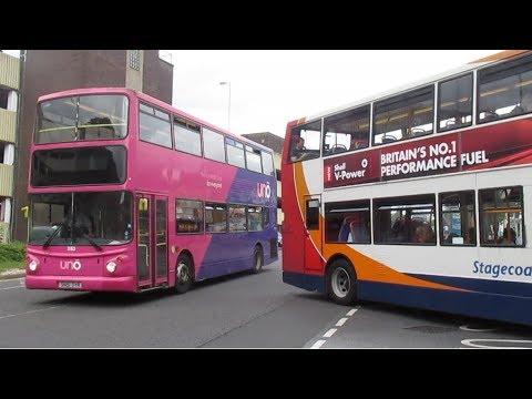 Buses & Trains at Northampton Summer 2017