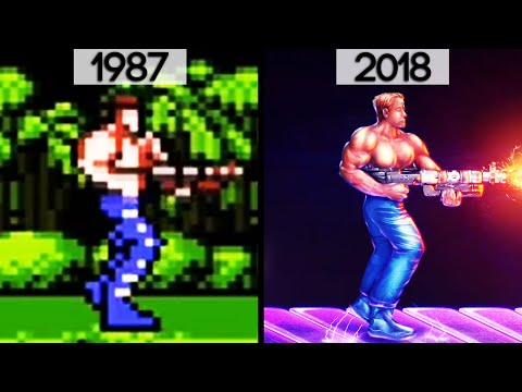 History/Evolution of Contra (1987-2018)