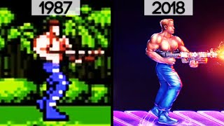 History/evolution Of Contra (1987 2018)