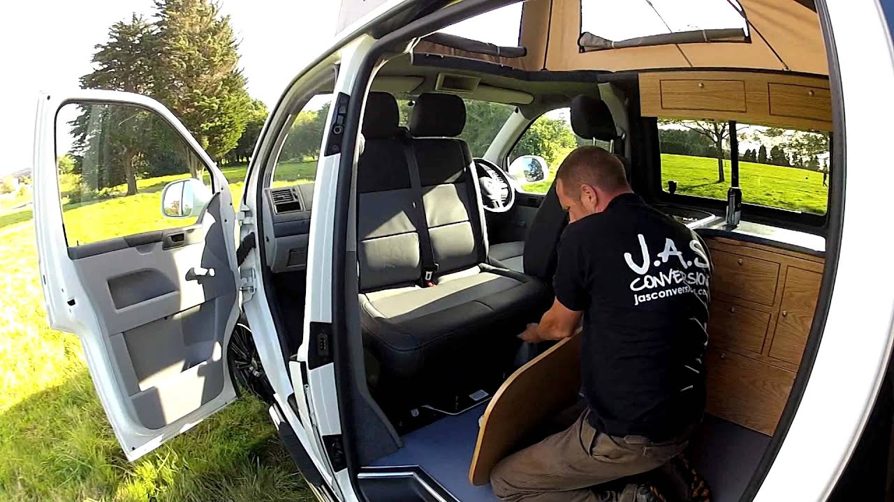 vw t5 campervan v2 youtube. Black Bedroom Furniture Sets. Home Design Ideas