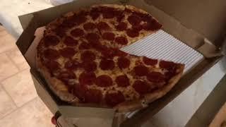PAC Man Pepperoni Pizza