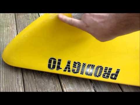 Kayak repair, my first time using JB Weld.
