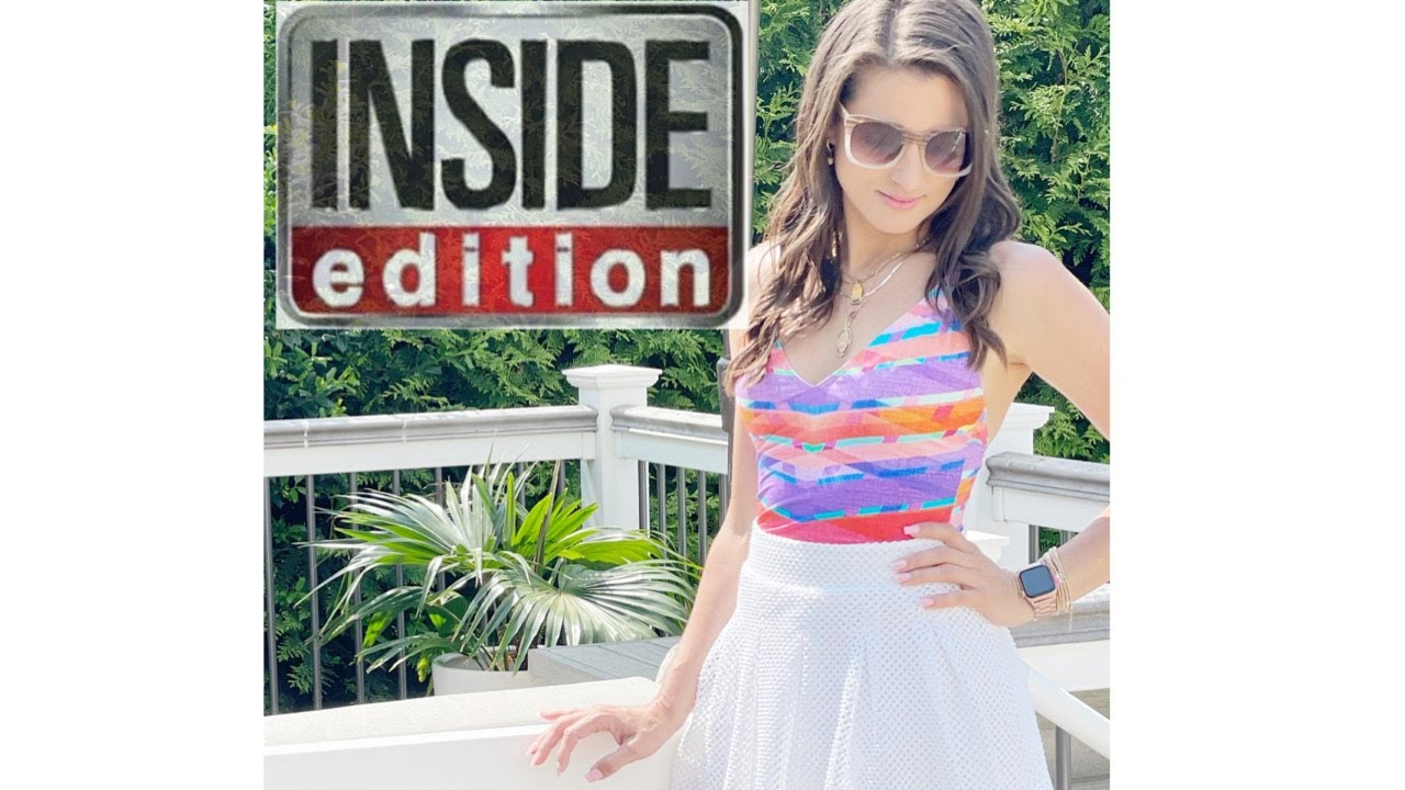 As Seen On { Inside Edition} 2021 Swimsuit Trends