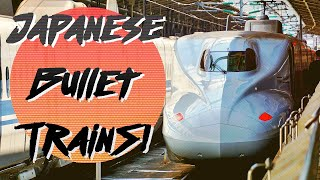 BULLET TRAIN - Riding Japan's Super Shinkansen - 新幹線に乗りましょ!