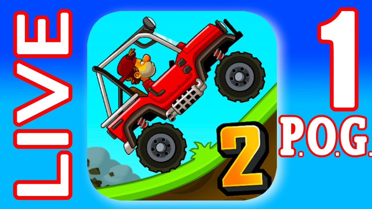 HILL CLIMB 2 With P.O.G. LIVE #1 (iOs, Android) | Power of Gameplay