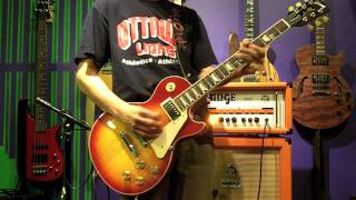 GUITAR TONE - SOUND DEMO - ORANGE THUNDER TH 30