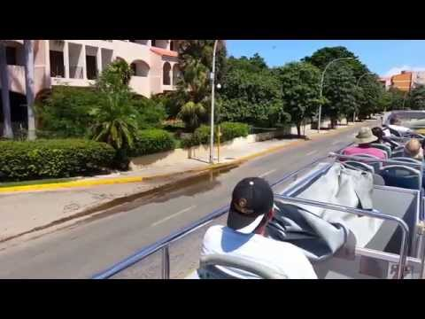 CUBA, VARADERO, TOUR DE BUS part 1