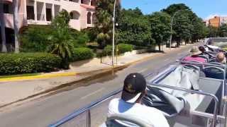 CUBA, VARADERO, TOUR DE BUS part 1 streaming