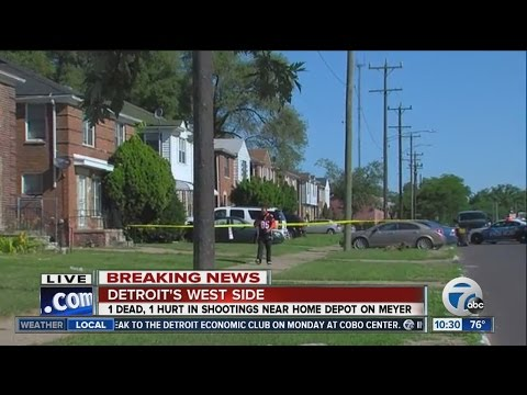 Two shot, one killed at home on Detroit