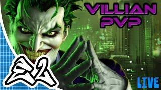 DC Universe Online (PC/ PS4) Livestream - PVP - Ice Tank 2017 Ep.39