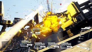 DUAL GEAR | Pre-Alpha Gameplay Footage - MESSA Mission (2016)