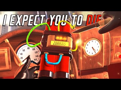 I Expect You to Die - The World Class Spy - PSVR - I Expect You to Die Playstation VR Gameplay