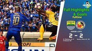 Persib Bandung VS Semen Padang (2-2) | Full Highlights & Goal