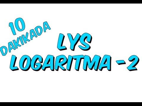 10dk da LYS LOGARİTMA 2