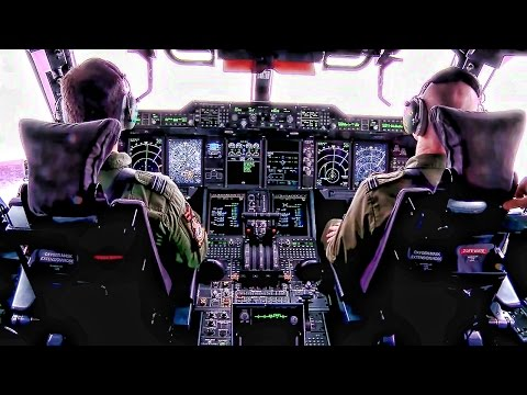 Royal Air Force Airbus A400M Atlas • Flight & Cockpit Video