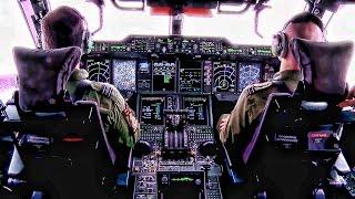Royal Air Force Airbus A400M Atlas • Flight & Cockpit Video