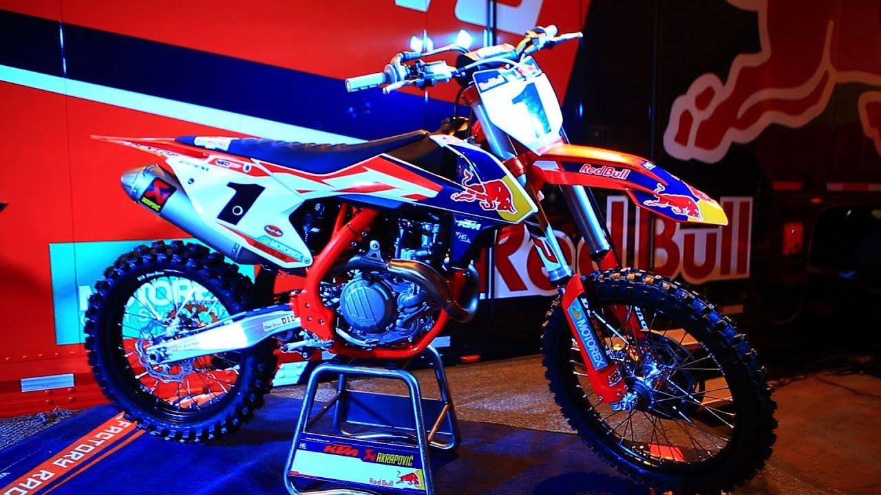 2017 ktm 450250 sxf 2016 factory edition ktm launch motocross action magazine youtube