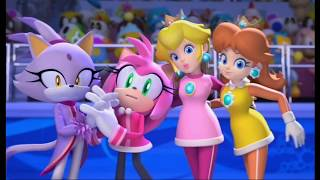 Mario & Sonic at the Olympic Winter Games (Vancouver 2010) Opening HD