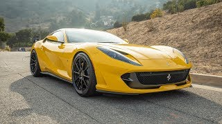 #RDBLA FERRARI 812 SUPERFAST SUPERLOUD, AUDI R8, MOSES GETS INTO AN ACCIDENT!