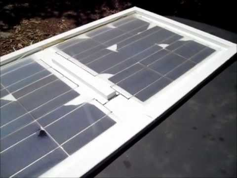 Solar Curing Solar Panel EVA Film - the easy way