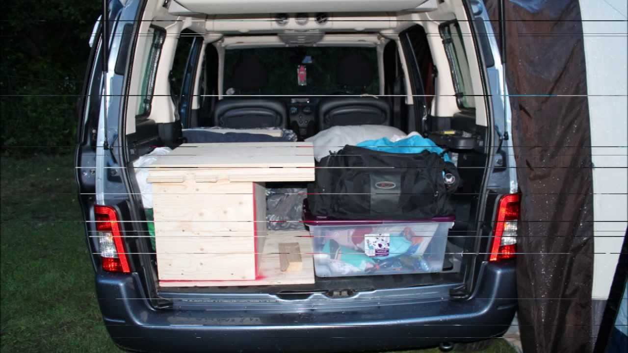 citroen berlingo single boot camper camping trip test part 2 youtube. Black Bedroom Furniture Sets. Home Design Ideas