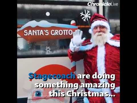 Stagecoach North East - Santa's Grotto