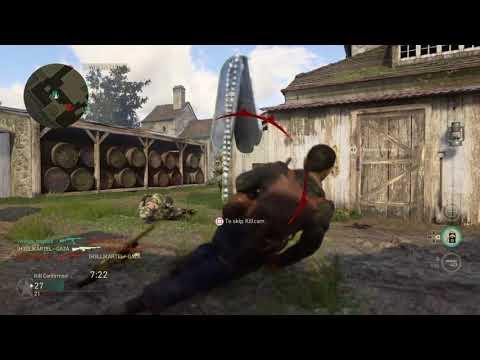 Call of Duty WWII B-A-R AT WORK #KARTEL--GAZA #CALL_OF_DUTY_WW2