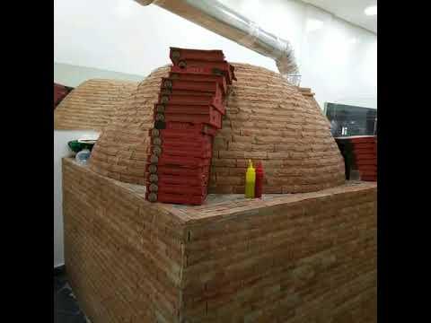Pizza four a bois
