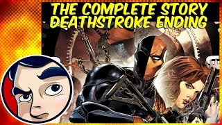 """Deathstroke """"The End of The Family.... New 52 Finale"""" - Complete Story 