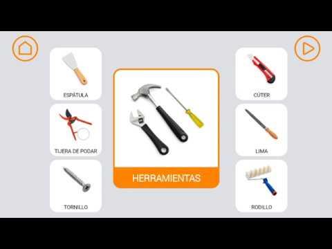 Herramientas nivel 1 l xico sem ntica app soyvisual for Herramientas de un vivero