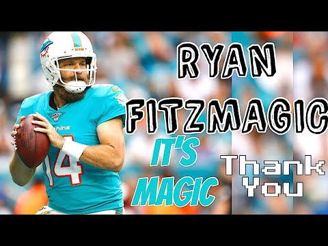"""Ryan Fitzmagic Dolphins Highlights 